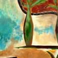 Pinturas y esculturas cargadas de simbolismo, sensibilidad y color.