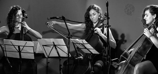 El trío de violoncellos abordará un repertorio de música popular y ciudadana en formato totalmente atípico.