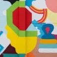 """El color y las formas libres con espíritu nómade, en el marco del proyecto de residencia """"Pioneros de un viaje a ningún lado""""."""