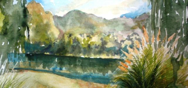 """""""El paisaje existe, en la medida que sepamos inventarlo con nuestros sentidos""""."""