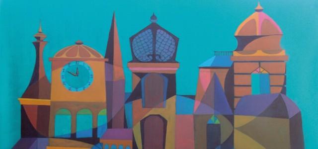 Conjunción del candor creativo nacido de la inspiración latinoamericana, la fe y el amor por la pintura.