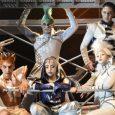 Mega estructuras, teatro acrobático, efectos especiales y luchas de poder con los personajes shakespereanos.