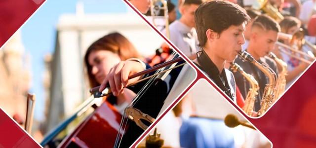 IV° edición del Encuentro de Bandas y Orquestas Infanto Juveniles.