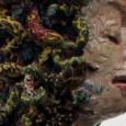 """Esculturas y bajos relieves de gran formato pertenecientes a la serie """"Esperpentos""""."""