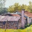 El artista presenta acrílicos y acuarelas que reflejan la riqueza paisajística de la provincia de Córdoba.