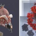 Las artistas nos acercan sus últimas producciones en materia de arte digital y esculturas en técnicas mixtas.
